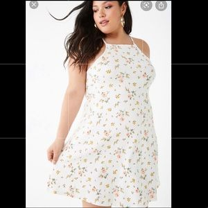 Forever 21 Plus Size Floral Swing Dress
